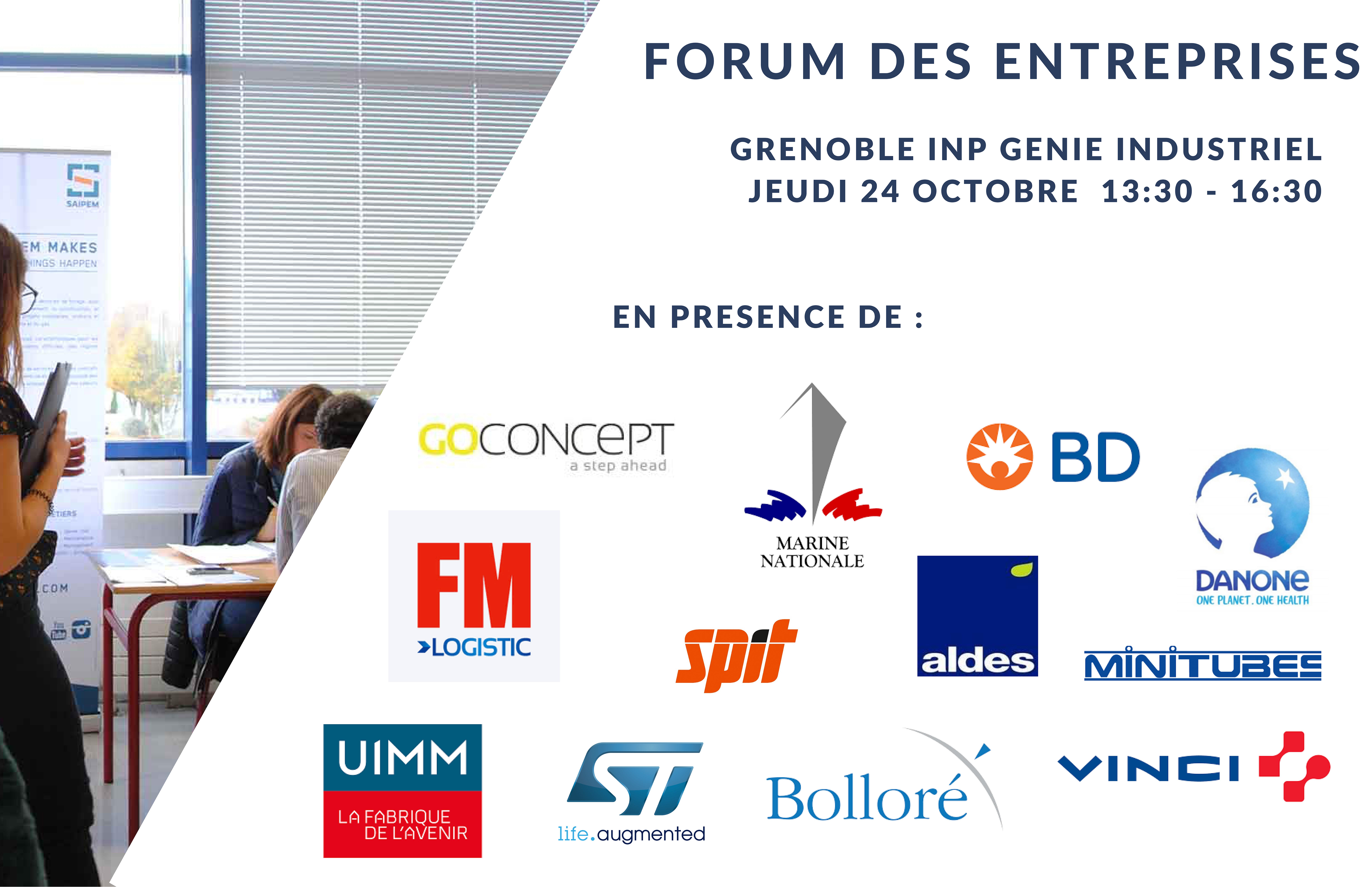 Forum entreprises novembre 2019