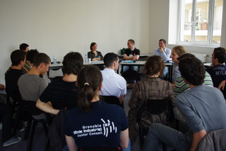 GI découvertes du 12 mai 2009 échanges avec les diplomés
