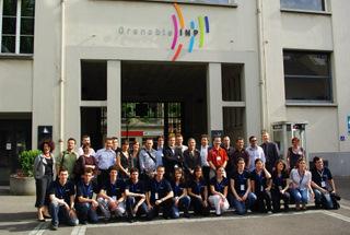GI découvertes 12 mai 2009 les intervenants et l'équipe organisa