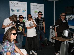 les lycéens pratiquent la 3D