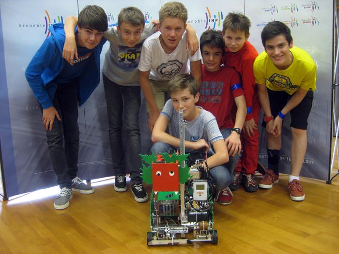 First Tech Challenge 2015 - Prix du concours pour le collège Le Chamandier