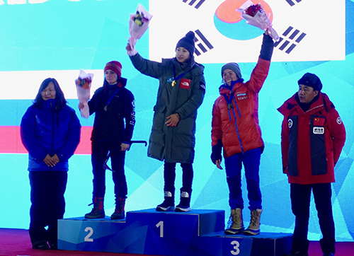 podium marion thomas